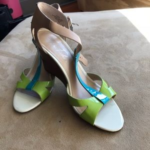 Multi color sandals, like New